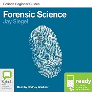 Forensic Science: Bolinda Beginner Guides audiobook cover art