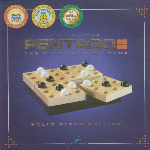 Pentago The Mind Jeu de Torsion – Solid Birch Edition