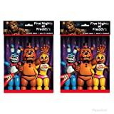 2 Pack of Five Nights at Freddy's Favor Bags (8ct each)