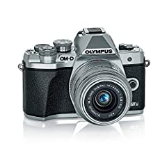 Olympus OM-D E-M10 Mark IIIs Silver Body with Silver M.Zuiko Digital 14-42mm F3.5-5.6 IIR Lens (V207111SU000)
