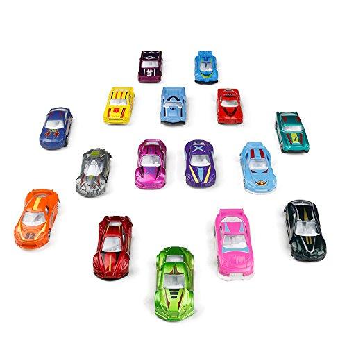 TONZE Coches Niños Juguetes Vehiculos Metálico Mini