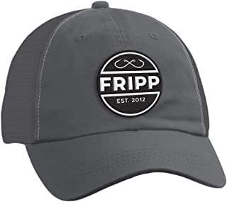 Hooks Logo Mesh Hat in Charcoal by Fripp Outdoors