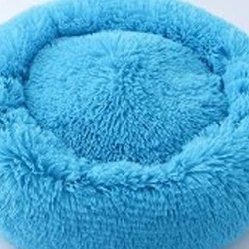 Super weiches Hundebett Runde Lange Plüsch Hundehütte Deep Sleep Velvet Hundematten Winter Warm Pet Bed Kennel