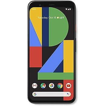 Google Pixel 4 XL - Just Black - 64GB - Unlocked (Renewed)