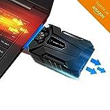 ADVITECK WIND+ 2018 - Refroidisseur PC Portable Gamer le Plus Simple - Ventilateur...