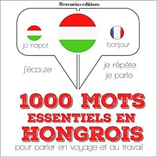 Couverture de 1000 mots essentiels en hongrois