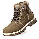 ANJOUFEMME Snow Winter Hiking Boots for Women - Ladies...