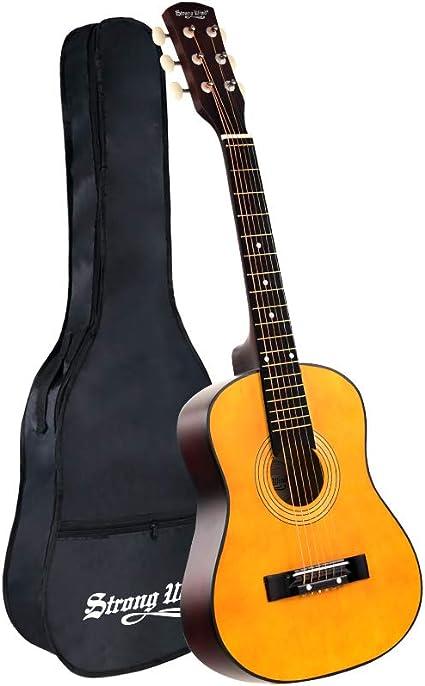 Adult acoustic guitar
