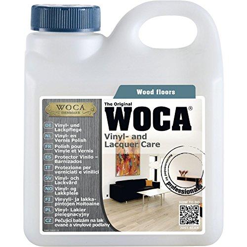 WOCA Vinyl- und Lackpflege 1 Liter | Pflege von Vinyl, Laminat und lackierten Parket-Böden
