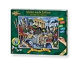 Schipper números, Viaje a Berlín – Cuadros para Adultos, Incluye Pincel y Pinturas acrílicas, 40 x 50 cm (Simba Toys 609130852)