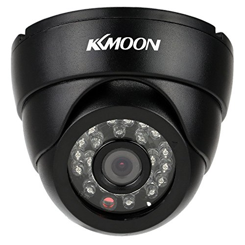 KKmoon Indoor Camera,Security Camera,2.8mm 720P Security Surveillance CCTV Indoor Camera,Analog Camera24pcs IR IR LEDs for Night View,Super Wide Angle,NTSC System,Home Security System