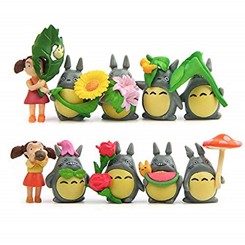 10 Pcs Mini Animal Mini Decoration DIY Doll House Plant Decoration Kit Fairy Tale Animal Statue Garden Animal Mini Micro Landscape Accessories (10)