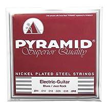 Pyramid Nickel-Plated Steel Round Wound, Blues/Jazz Rock