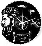 Instant Karma Clocks Orologio in Vinile da Parete LP 33 Giri Idea Regalo Vintage Handmade Parrucchiere Capelli Barba Salone Bellezza Barbiere Uomo Barber Shop