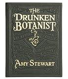 THE DRUNKEN BOTANIST by Amy Stewart special edition in Green Calfskin leather -