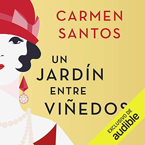Diseño de la portada del título Un Jardín entre Viñedos