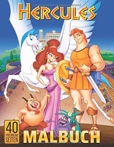 Hercules Malbuch: Malbuch fur Erwachsene und Kinder