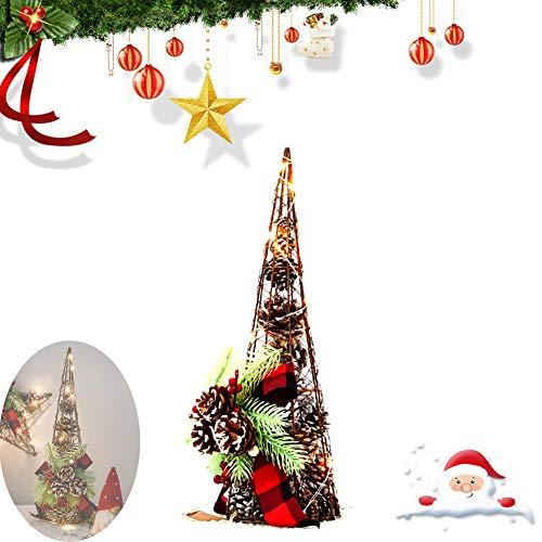 WYSDTB LED kerstdecoratie, verlicht, voor kerstdecoratie, feestartikelen, trumpetpagoda