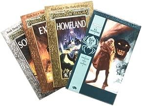 The Dark Elf Trilogy Gift Set (Homeland + Exile + Sojourn)