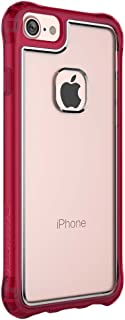 Ballistic Jewel Essence Case for Standard Size 4.7-Inch Apple iPhone 8/7/6S/6 - Clear/Burgundy - Not Compatible with iPhone Plus 5.5-Inch Screen Size Smartphones