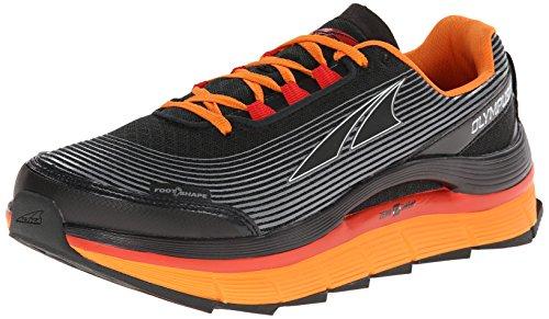 Altra Olympus 1,5 Zero Drop Chaussures de cours'à Pied pour Homme Gris/Orange - Gris - Gris/Orange,