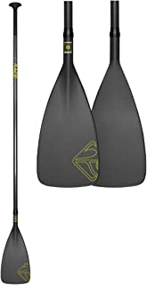 Boardworks Carbon Race One Piece SUP/Stand Up Paddle Board Paddle | 85 Sq. in. Carbon Fiber Blade | Carbon Fiber Shaft | 8...