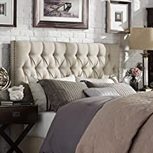 Best white chesterfield headboard Reviews