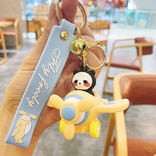 Neaer Llavero de Disney con diseño de Minnie Mickey con dibujos animados de Minnie Mickey Take a Plane, llavero para parejas, pequeño regalo al por mayor (color : 4)