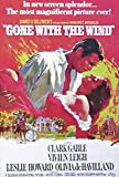 Gone with The Wind Clark Gable Vivian Leigh Filmposter Kino