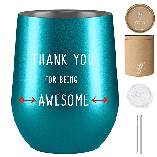 Esbio Ssem Thank You Gifts You Make a Difference Keychain Engraved Stainless Steel Key Charm for Volunteer Appreciation Jewelry Gift for Teacher Employee Doctor Mentor