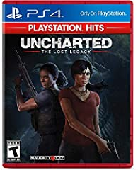 From award-winning developer Naughty Dog comes a brand new Uncharted game, starring Chloe Frazer. Dynamic game play; cinematic combat; exploration Complex puzzles; jaw-dropping environments