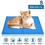 Hengda Kühlmatte Hunde Katzen Haustiere Für Haustiere Katzen und Hunde Ungiftig Sommer Selbstkühlendes (S (40 * 50cm))
