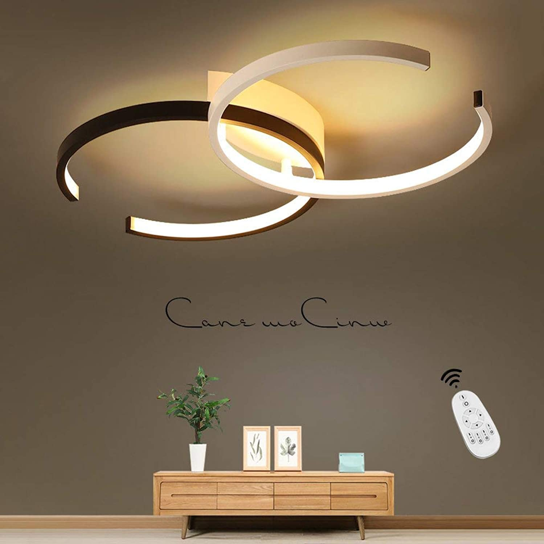 WIVION LED Downlight I Deckenleuchte 55 cm 40 Watt Mit Fernbedienung Eisen Kinderzimmerlampe Innenlampe Schlafzimmerlampe Badezimmerlampe Korridorlampe Dimmbarer Kronleuchter
