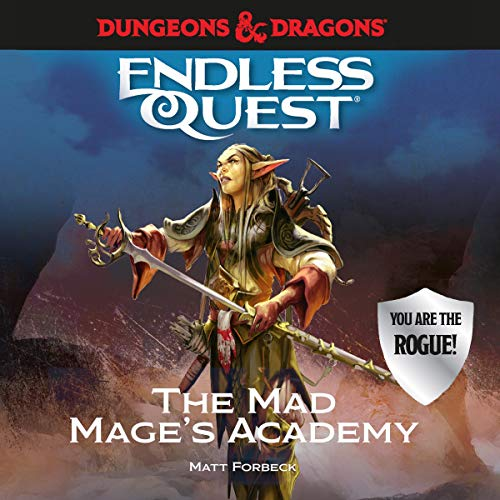 Dungeons & Dragons: The Mad Mage's Academy cover art