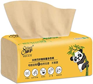 Toilet Paper,Safe Paper Towels Daily Soft Toilet Paper Bulk For Home Kitchen 8 Packs Bamboo Pulp Facial Tissues Supple (Co...