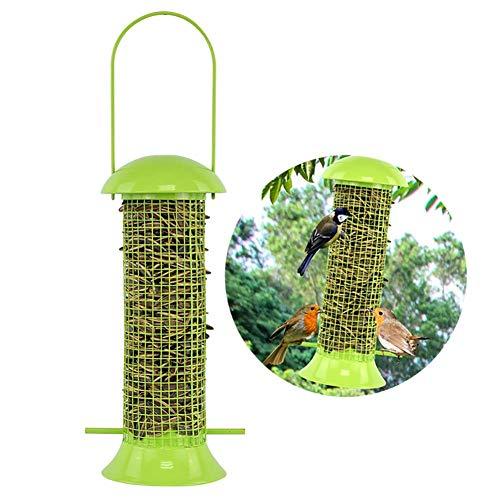MC.PIG Comedero para pájaros Alimentador automático del balcón del jardín del alimentador...