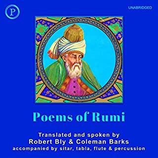 Poems of Rumi audiobook cover art