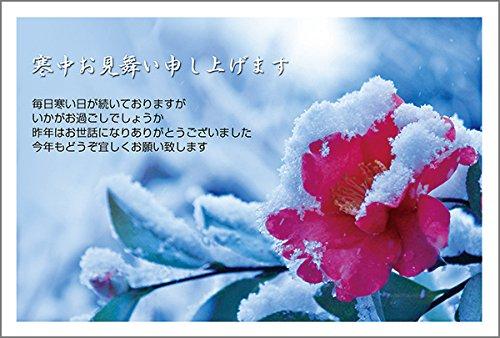 10枚入り 寒中見舞いはがき(風景写真入り)KSF-17