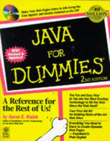 Java for Dummies (For Dummies Series)