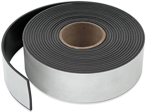 Master Magnetics ZG95A-A10BX Flexible Magnet Strip with Adhesive Back, 1/16