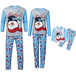 Kehen Family Christmas Elf Pajamas Set Mommy and Me Matching Outfits Soft Couples Toddler Holiday Jammies