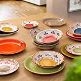 Zoom IMG-1 set piatti casablanca in stoneware