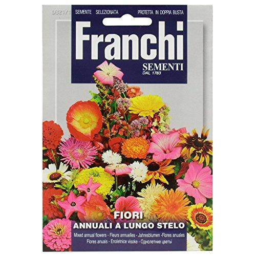 Seeds of Italy Ltd Franchi Mélanges de Fleurs annuelles à Longue Tige