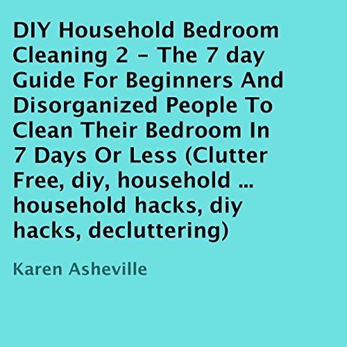 DIY Household Bedroom Cleaning 2 audiobook cover art