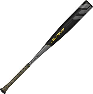 EASTON Project 3 Alpha -3 BBCOR Baseball Bat | 2019 | 1 Piece Aluminum | Carbon-Core | ATAC Alloy | VRS COR | Speed End Cap | Lizard Skin Grip | 2 5/8