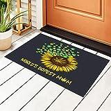 World'S Dopest Mom - Felpudo para puerta de entrada de hierba con...