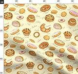 Cupcake, Croissant, Krapfen, Gebäck Stoffe - Individuell
