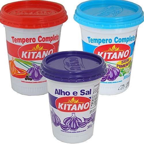 KITANO スパイスソルト お試しセット 300g×3個 紫と赤と青のふた キタノ