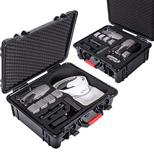 Smatree Professional Waterproof Carrying Case for DJI Mavic 2 Pro/Zoom, DJI Goggles and DJI Smart Controller (DJI Goggles/Drone and Accessories NOT Included)