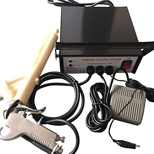 Plastic Powder Coating Machine, 5 Speed Portable...